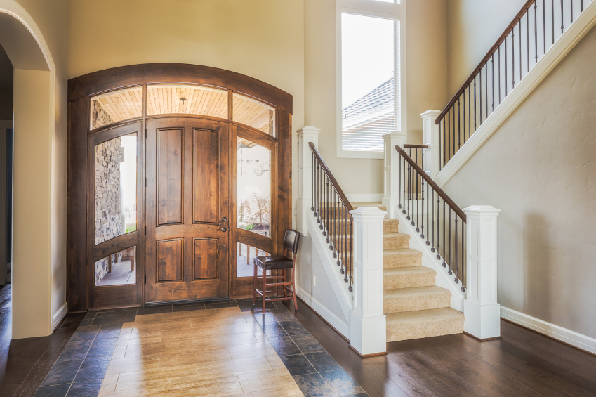 How Big Should Foyer Be : Enhancing your foyer tony s flooring