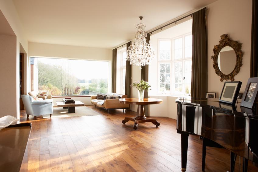 Interior Of Beautiful Contemporary Lounge
