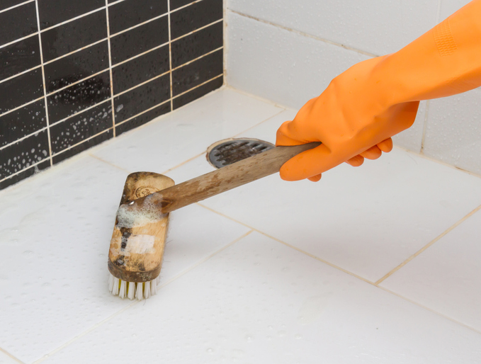 Clean Tile Floor Grout Like A Pro